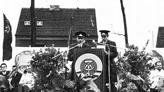 Einweihung Panzerdenkmal in Beilrode
