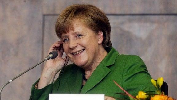 Merkel an der Karlsuniversität in Prag