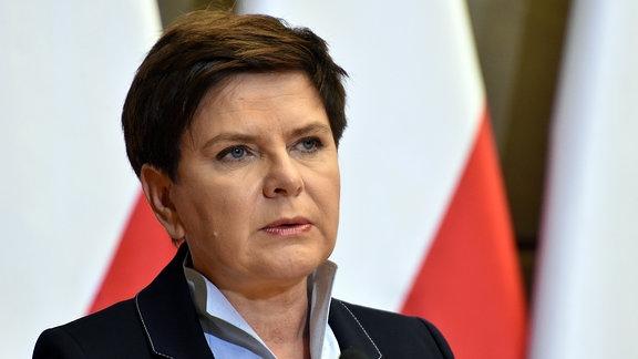 Beata Szydlo Ministerpräsidentin Polen