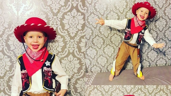 Kinderkarneval Cowboy