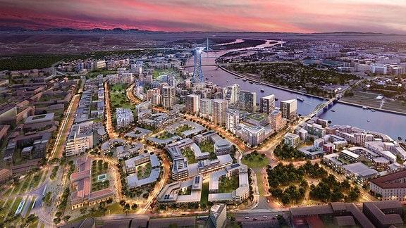 Bauprojekt Watergate in Belgrad