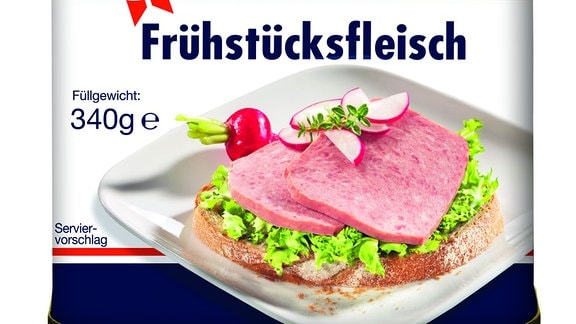 Frühstücksfleisch der dänischen Firma Tulip