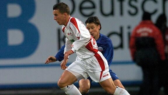 Lukas Podolski 1. FC Köln (2003)