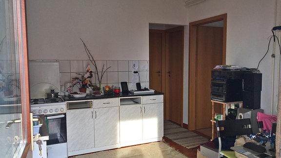 Eine Küche