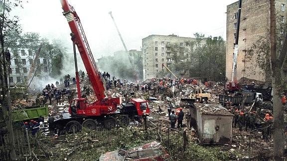 Wohnhaus-Explosion in Moskau 1999