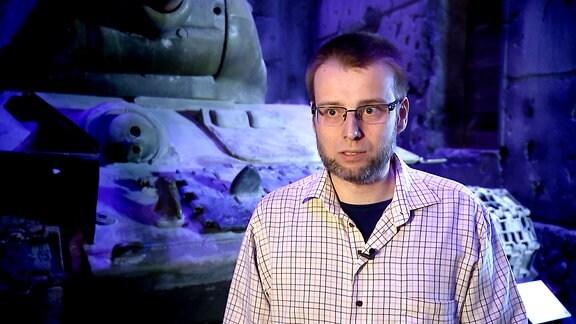 Der Historiker Piotr Osenka