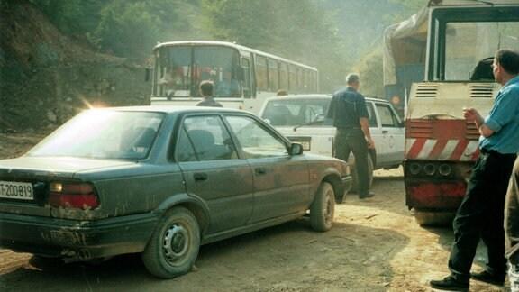 Reise durch das Kriegsgebiet 1992