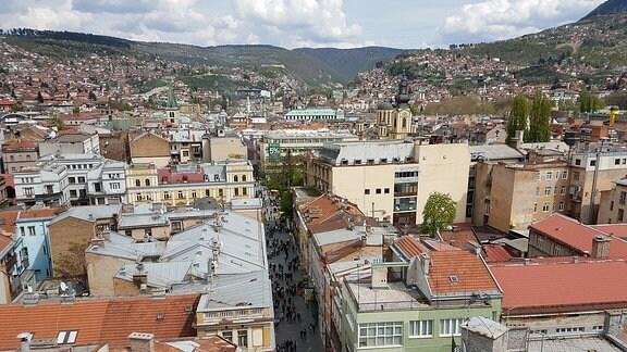 Sarajevo- heute eine friedliche Stadt