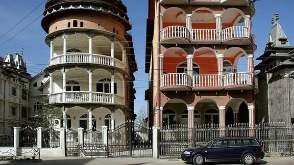 Roma-Bau in Buzescu