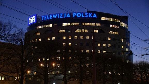 Das öffentlich-rechtliche Fernsehen TVP Polen (Telewizja Polska)