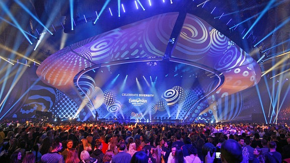 Eurovision Song Contest, in Kiev (Ukraine)