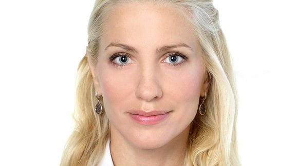 Svitlana Zalishchuk, ukrainische Journalistin und Politikerin.