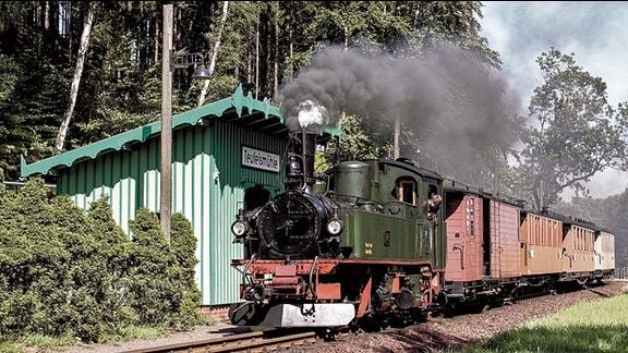Zittauer Schmalspurbahn, Haltepunkt Teufelsmühle