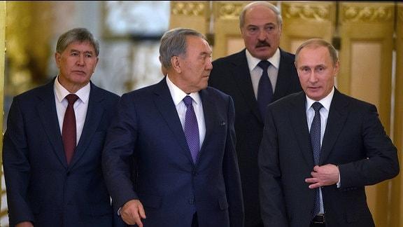 Gipfeltreffen der Eurasischen Wirtschaftsunion in Moskau.