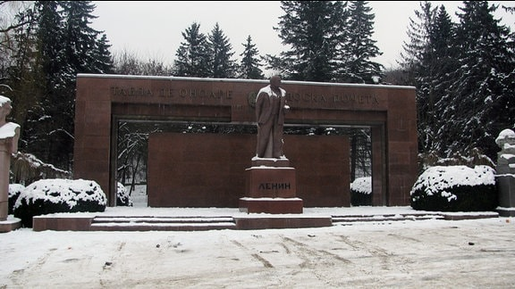 Lenin-Denkmal in Chinisau