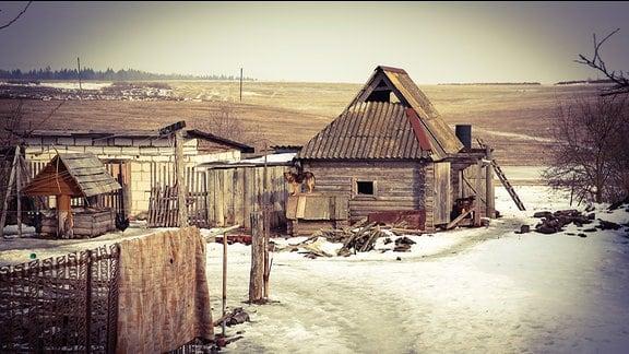 Ein russisches Dorf