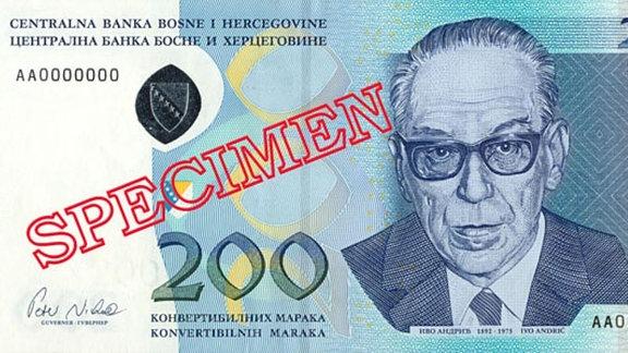 Konvertible Mark, Bosnien-Herzegowina, Währung