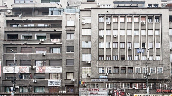 Wohnhäuser in Bukarest