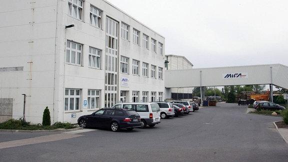 Unternehmenssitz der Mitteldeutschen Fahrradwerke AG (MIFA) in Sangerhausen (2015)