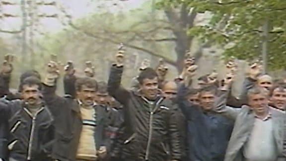 Bulgarien, Proteste der bulgarischen Türken.