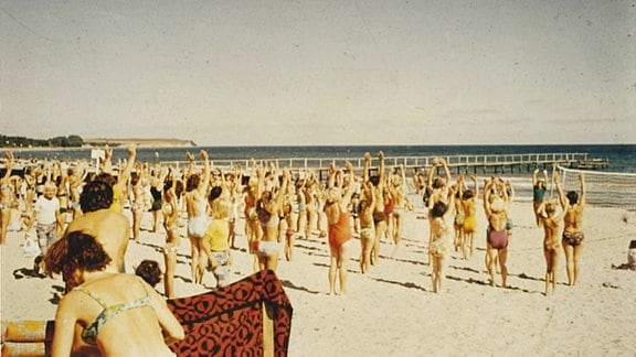 Urlaubsbilder aus dem DDR-Ferienort Boltenhagen an der Ostsee