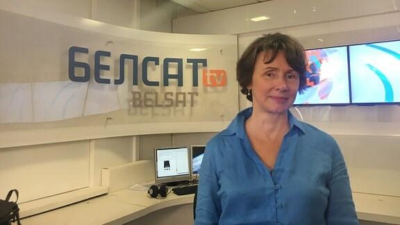 Belsat-Chefin Agniesza Romszewska Guzy