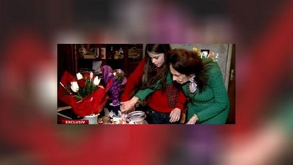 Adrina Iliescu und Eliza Iliescu
