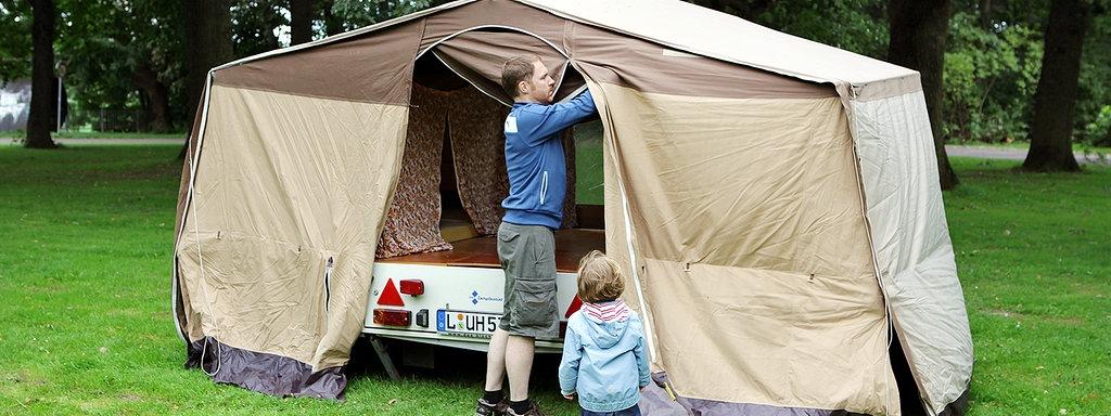 nackt beim camping