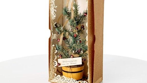 Feldpostpaket_mit_Weihnachtsbaeumchen__1914__