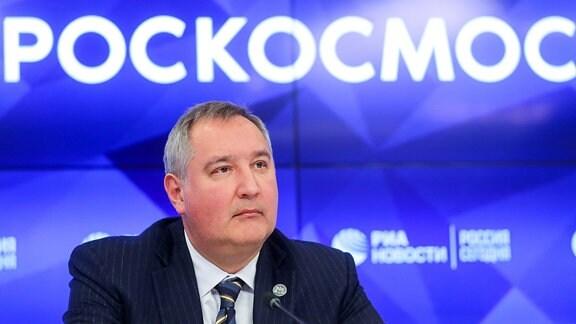 Dimitri Rogosin, Chef russische Weltraumbehörde Roskosmos