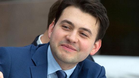 Dmitrij Androsow ist Mitglied der oppositionellen PARNAS-Partei.