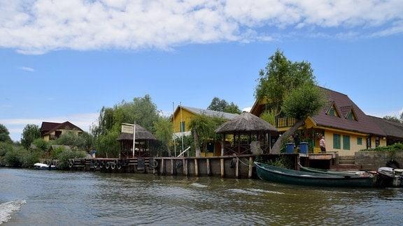 Touristenunterkunft Donaudelta