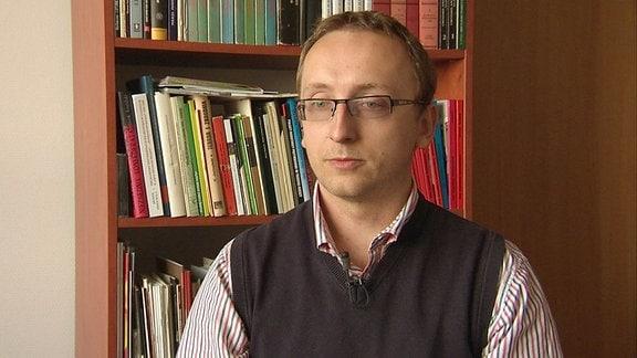 Artur Zawadka, Historiker vom Polnischen Institut für Nationales Gedenken, Warschau