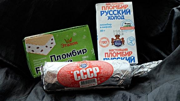 Eisverpackungen