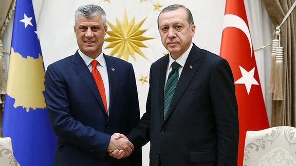 Erdogan und Thaci