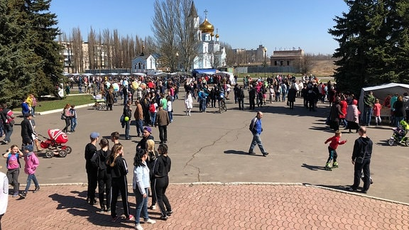 Festival Awdijiwka in der Ukraine