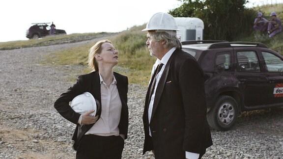 Sandra Hüller und Peter Simonischek