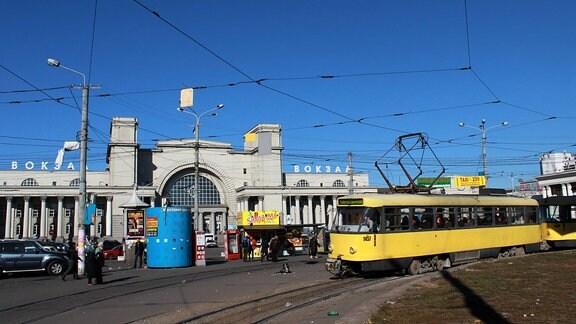 Bahnhof Saporischschja