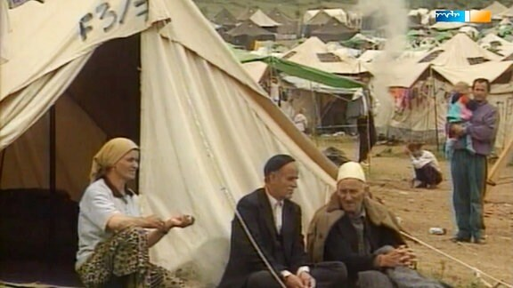 Flüchtlinge in Mazedonien.