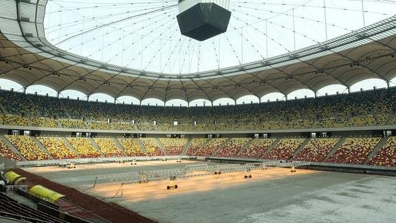 Bukarester Nationalarena, das größte Fußballstadion Rumäniens