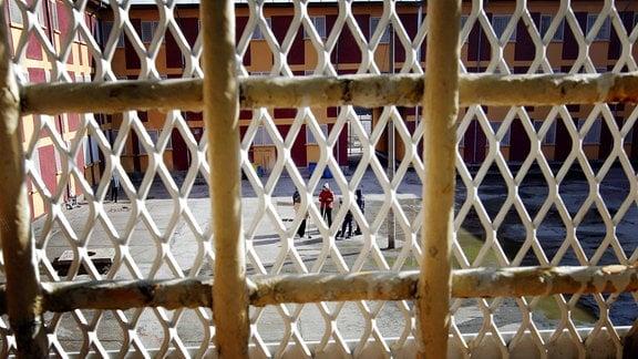 Blick aus einer Gefängniszelle in Jilava, nahe Bukarest.