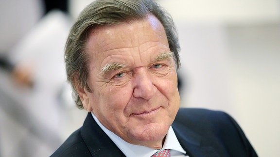 Nahaufnahme, Ex-Bundeskanzler Gerhard Schröder