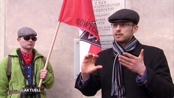 Polnischer Geschichtslehrer