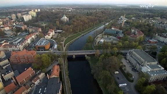 Luftbild Görlitz/Zgorzelec