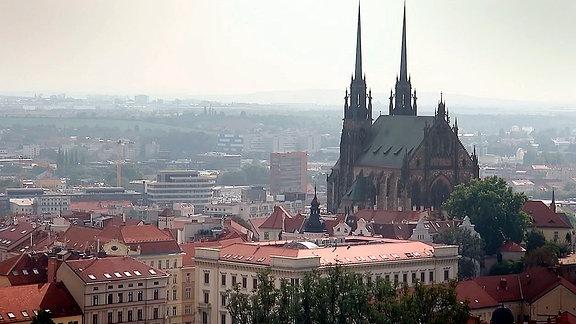 Stadtansicht von Brünn