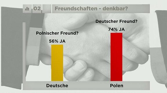 Umfrage: Was halten Deutsche und Polen voneinander?