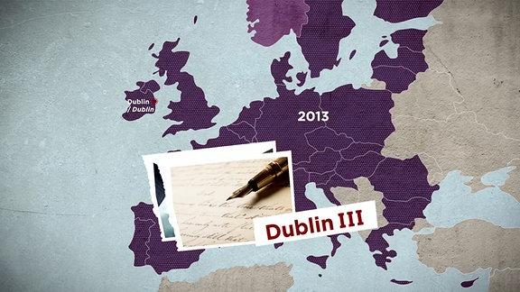Grafik zu Dublin-System