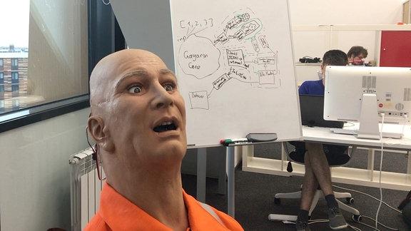 Roboterkopf