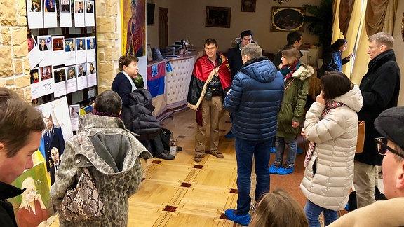 Menschen in einem Raum