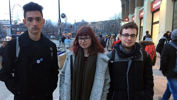 Jugendliche in Budapest